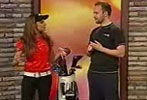 Trish Stratus on Daytime (Jul 2010)