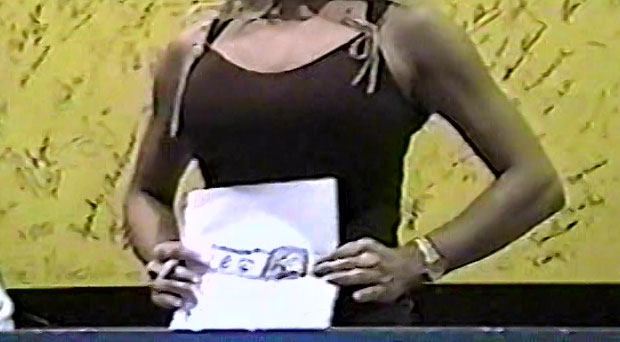 Trish Stratus receives gift from young fan