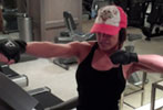 Video: Trish Stratus' 45 min all-inclusive treadmill workout (as seen in Oxygen)