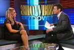 Trish Stratus on Showbiz Tonight (Mar 2006)