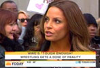 Trish Stratus on Today (Apr 2011)